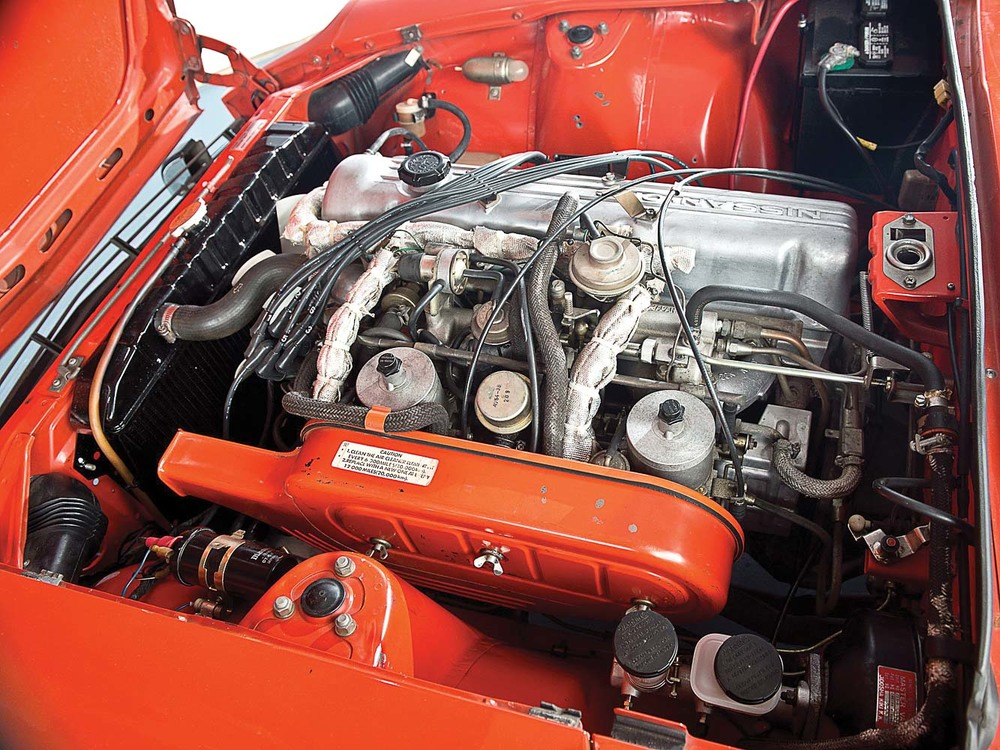 The 240Z's straight-six motor
