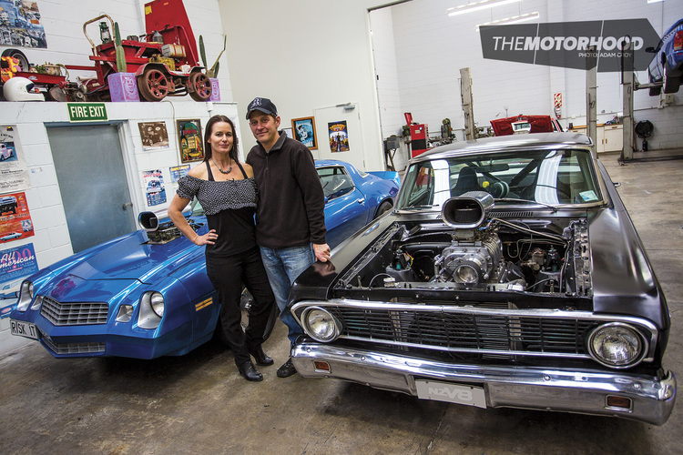 Dream Shed Westside Collection The Motorhood - Cool cars auckland