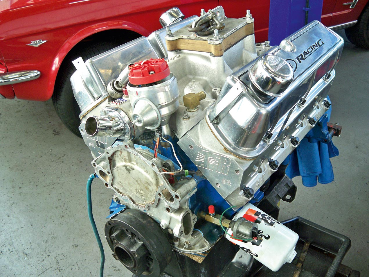 The Fix Basic Power Upgrades For A Sluggish 302 Motorhood Ford Wiring Harness Kits