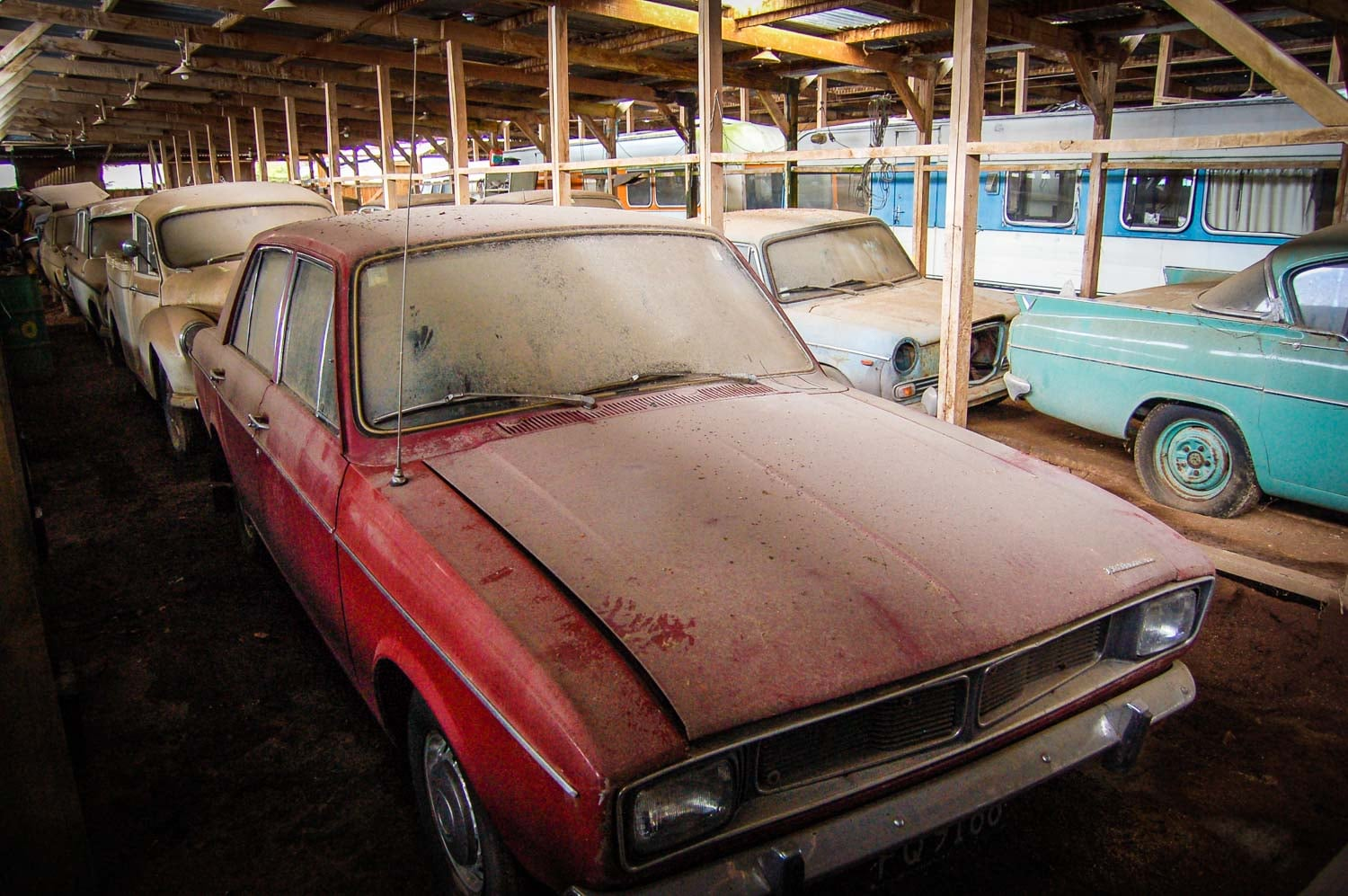 The Collectors 200 Dusty Classic Cars Found In A Barn