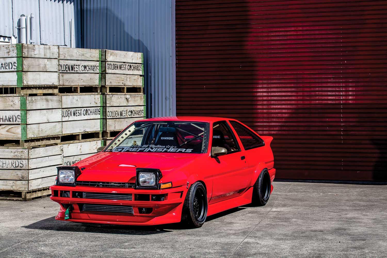 Best Laid Plans Matt Heslins Killer Sr20det Ae86 The Motorhood Nissan 240sx S14 Transmission Harness Wiring Specialties