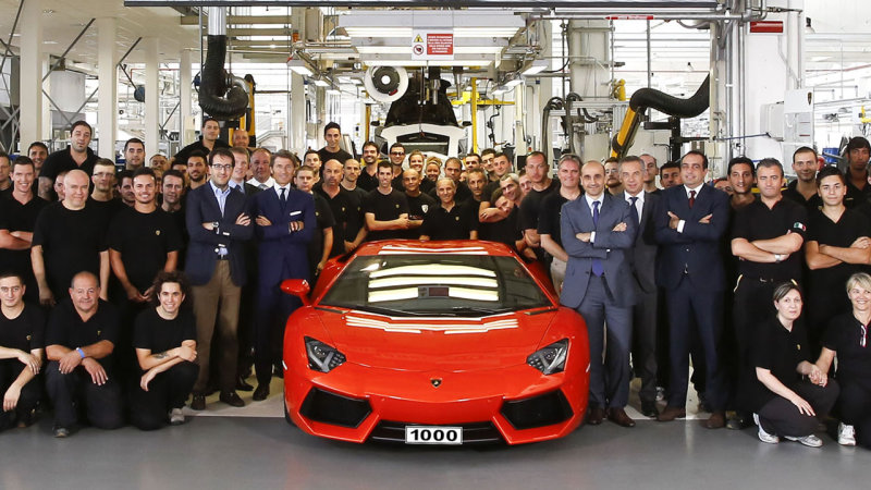 As Part Of The Volkswagen Group, Lamborghini Have Some Of The Lowest Sales  Figures, With Only Bugatti Coming In Lower, Due To The Production Of ...