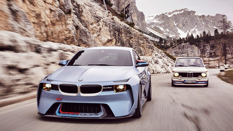 BMW 2002 homage: take a look at BMW\'s redesigned 2002 Turbo — The ...