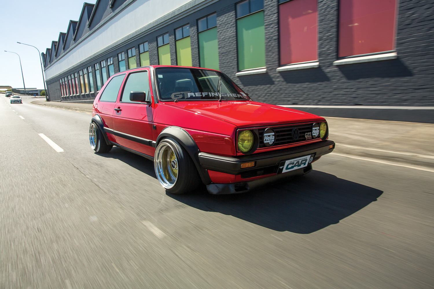 Cruise Mode: Tyler Young\'s 15x10.5-inch BBS-equipped Golf Mk2 — The ...