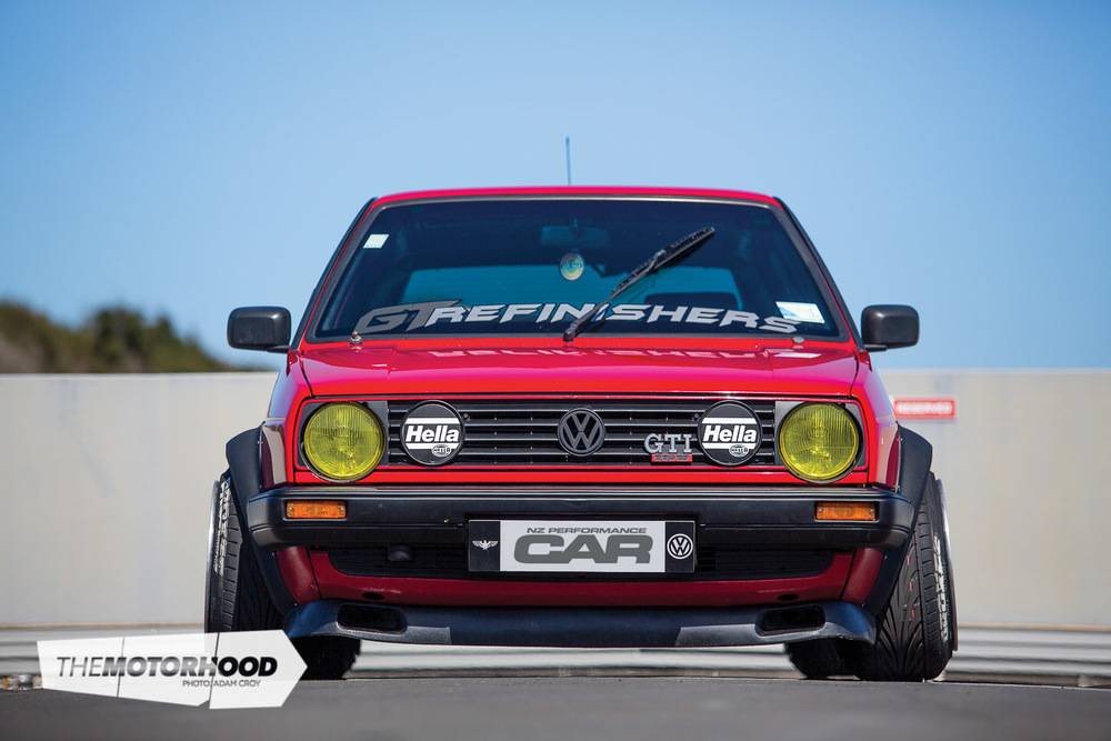 Cruise Mode: Tyler Young\'s 15x10.5-inch BBS-equipped Golf Mk2 ...
