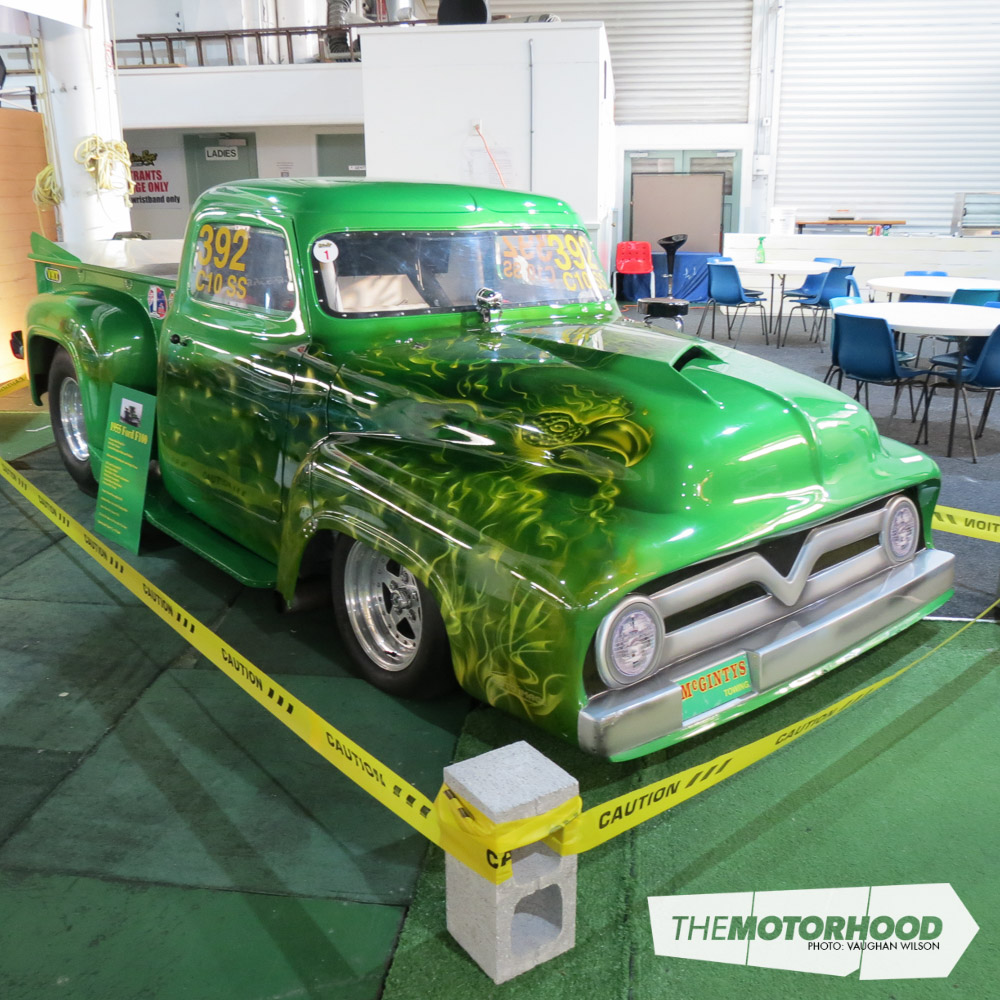 The Capitals Finest On Display At Petrolheads Porirua Motorhood 1955 Ford F100 Pro Street Drag Truck