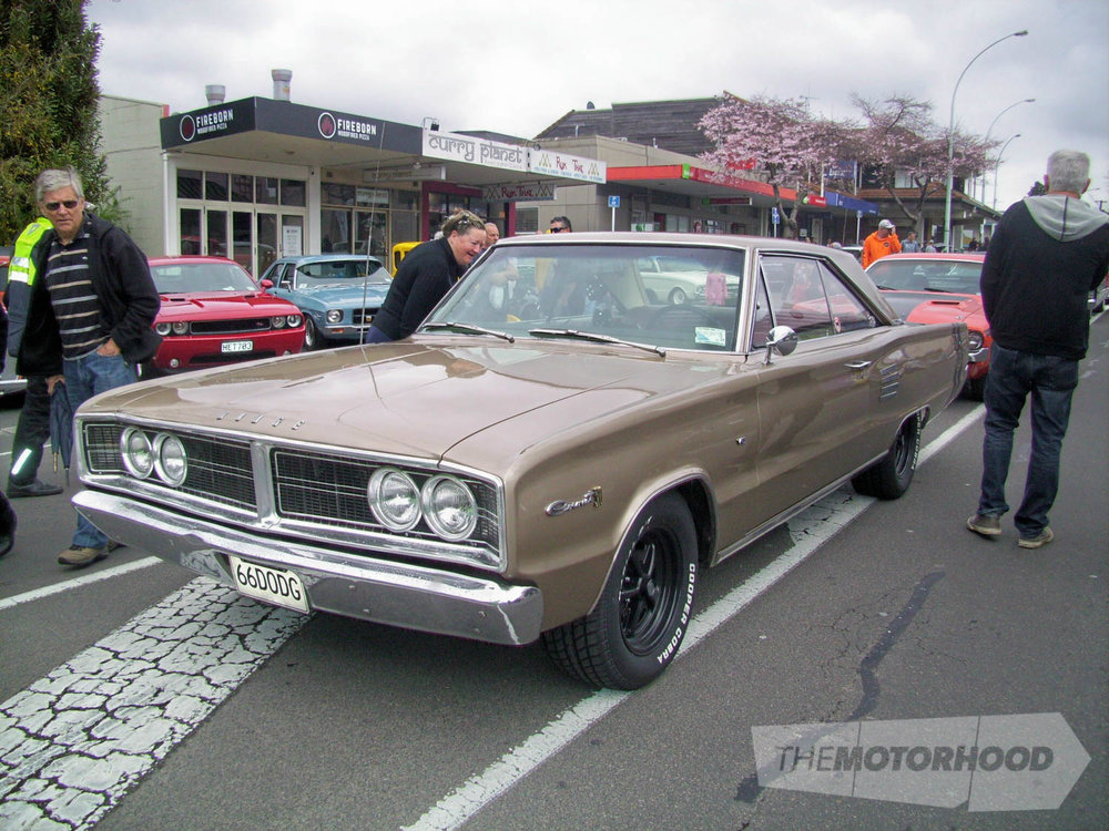 Aaron Jones 1966 Dodge Coronet from Rotorua certainly got quite a few lookers on the day.jpg