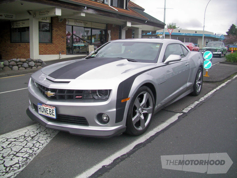 Bronwyn Harris  from Tauranga was another early arrival with her 2010 SS Camaro Hunebe , or was that her.jpg