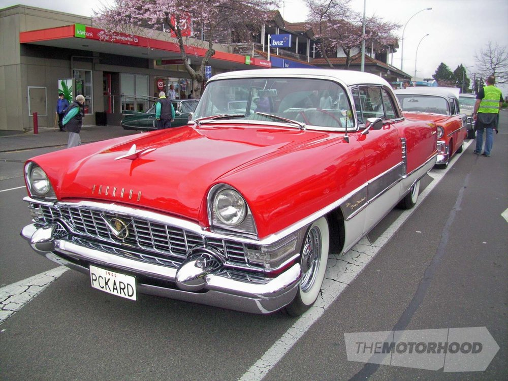 Craig Jamieson's 1955 Packard 400 from Mt Maunganui is always a standout  in it's red & white livery. It.jpg