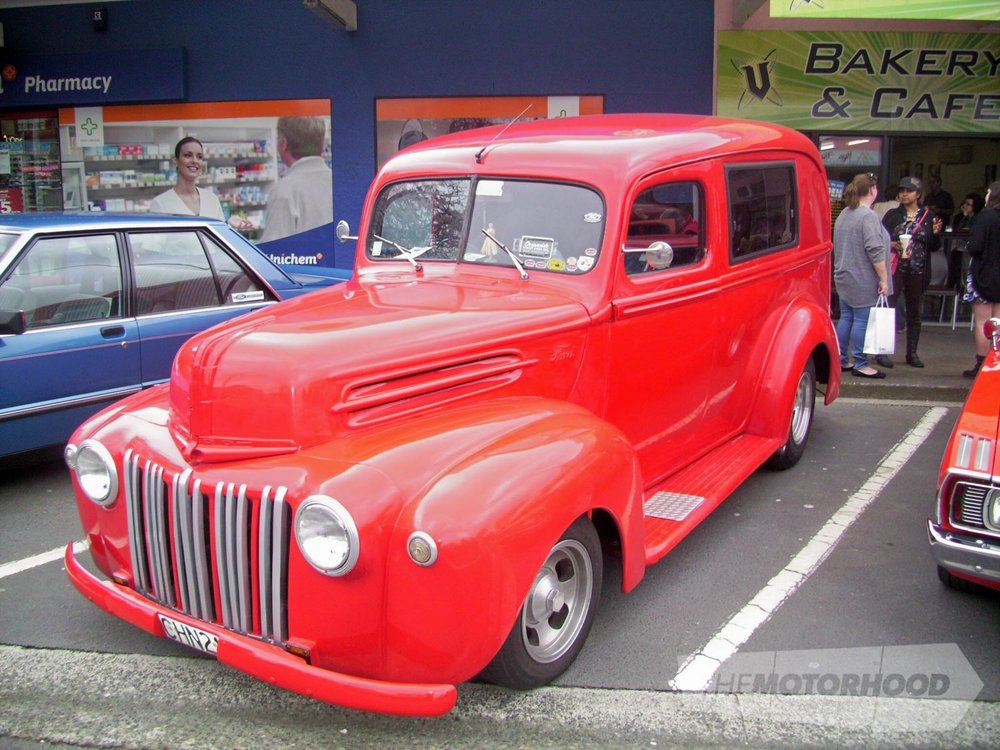 John & Tangi Burrell's 1947 Ford Panel Van from Mt Maunganui.jpg