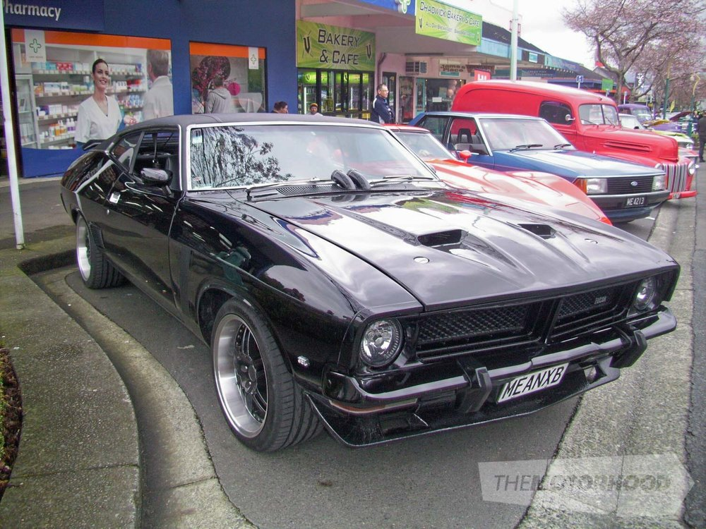 Kelvin Couchman' XB Falcon Coupe from Opotiki and comes and supports us every year. Member Whakatane For.jpg