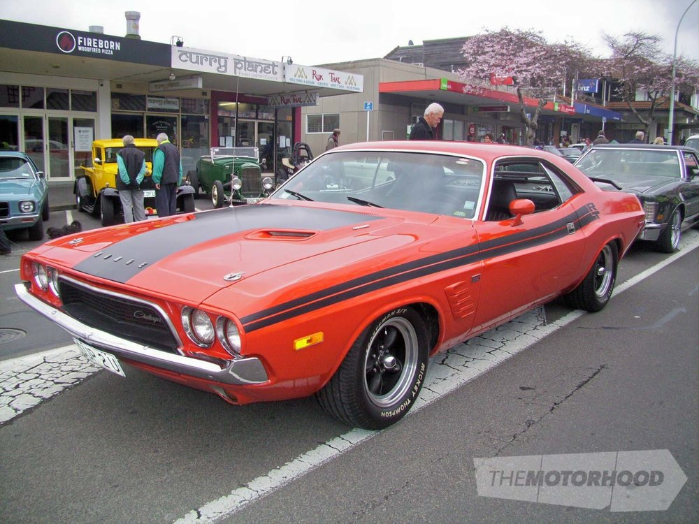 Kevin Brokenshire from Tauranga owns this 1973 Dodge Challenger.jpg