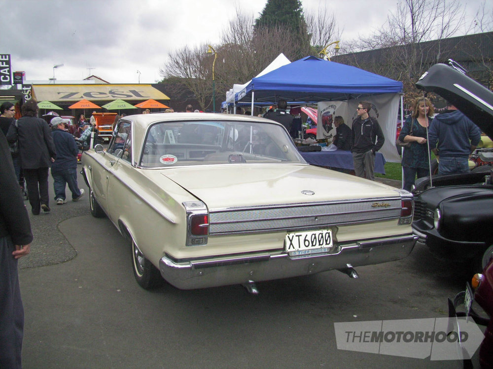 Tim Wood esteemed President of SM&Cs and his wife Dallas own this 1965 Dodge Coronet 500 hardtop.jpg