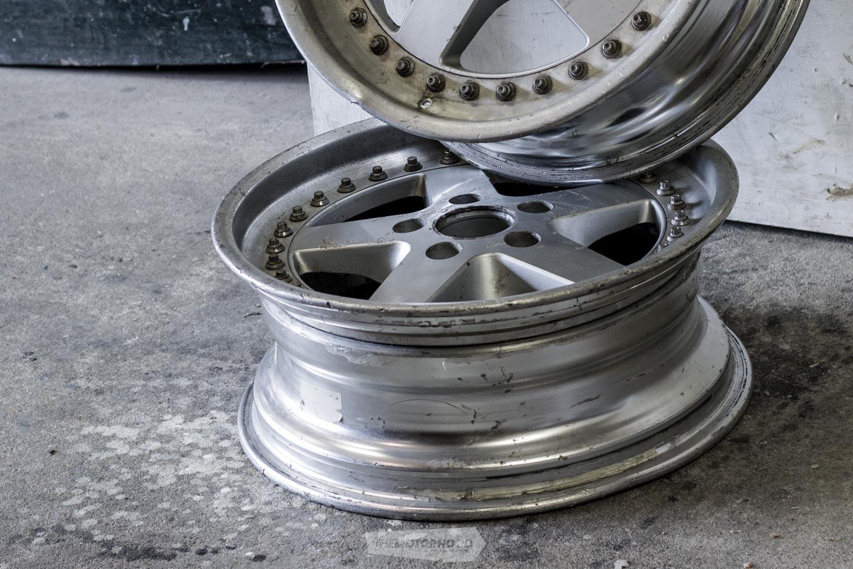 Weekend workshop: refurbing three-piece wheels | MyAutomotive