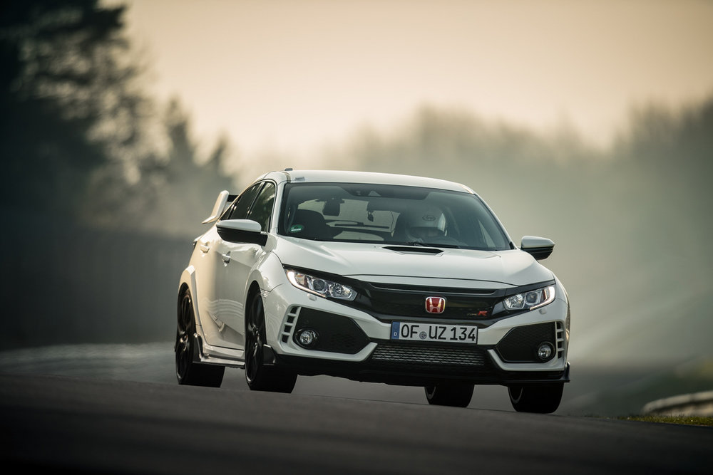 New Honda Civic Type R turbo the world's fastest ...