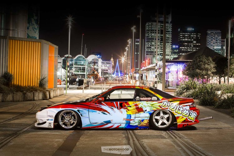 Kamehameha: Bryce\'s Dragon Ball Z-themed 180SX-fronted S14 — The ...