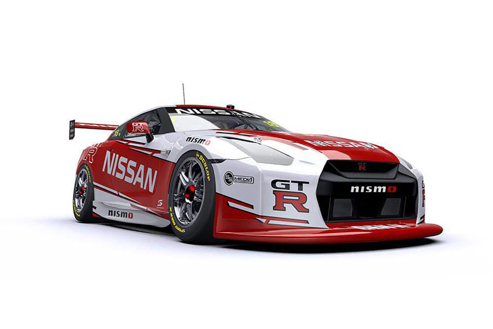 V8 Supercars New Nissan Gt R Concept Revealed The Motorhood