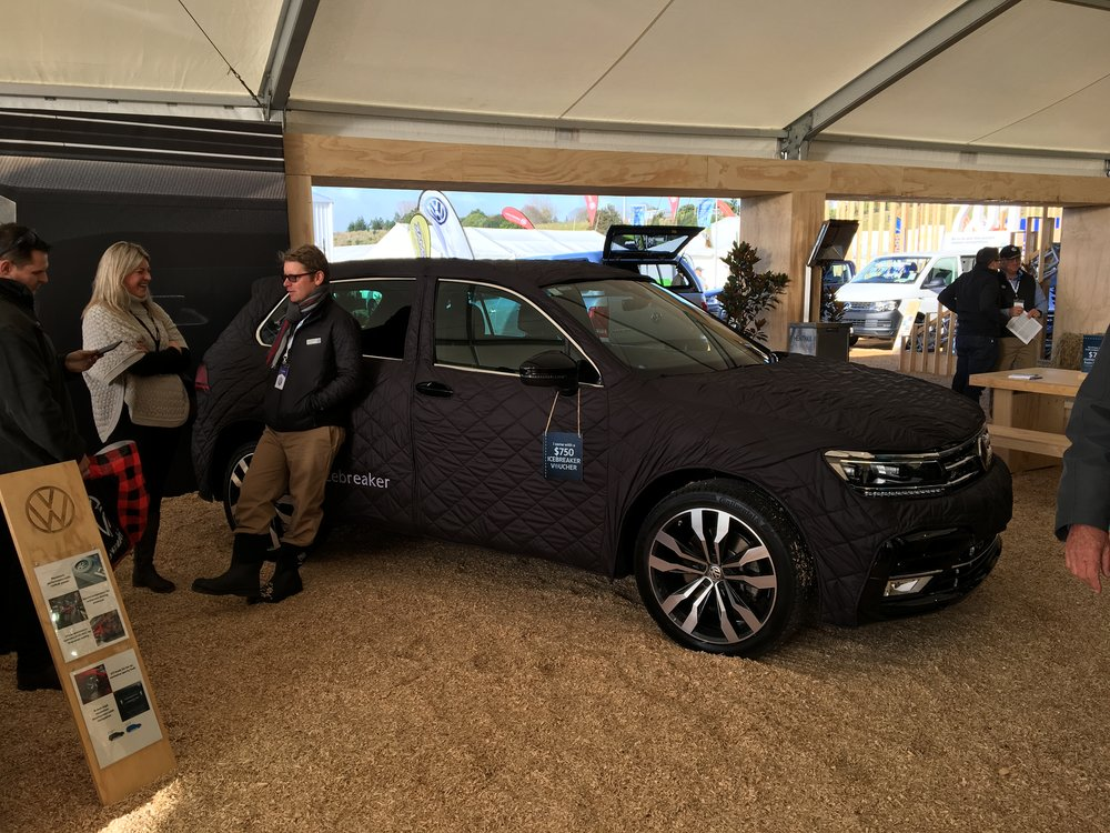 "Volkswagen have jumped on the ""clothing your car"" bandwagon, too."