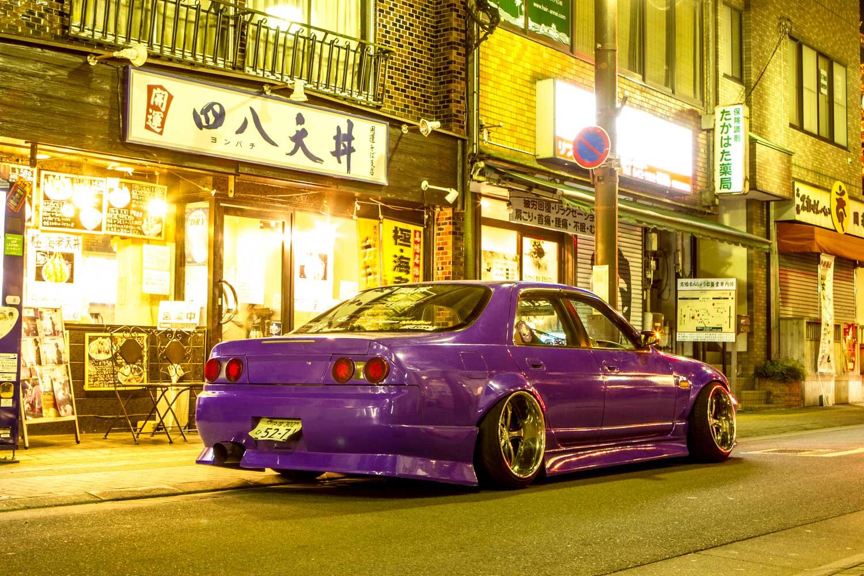 красивые машины в японии фото площадка
