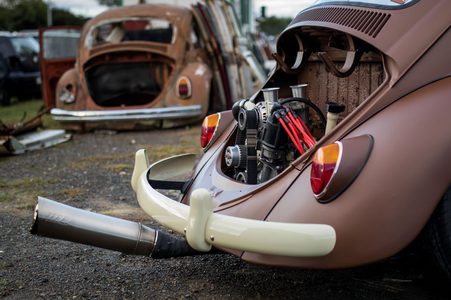 21 Midnights: 12a rotary crammed into a VW Beetle — The