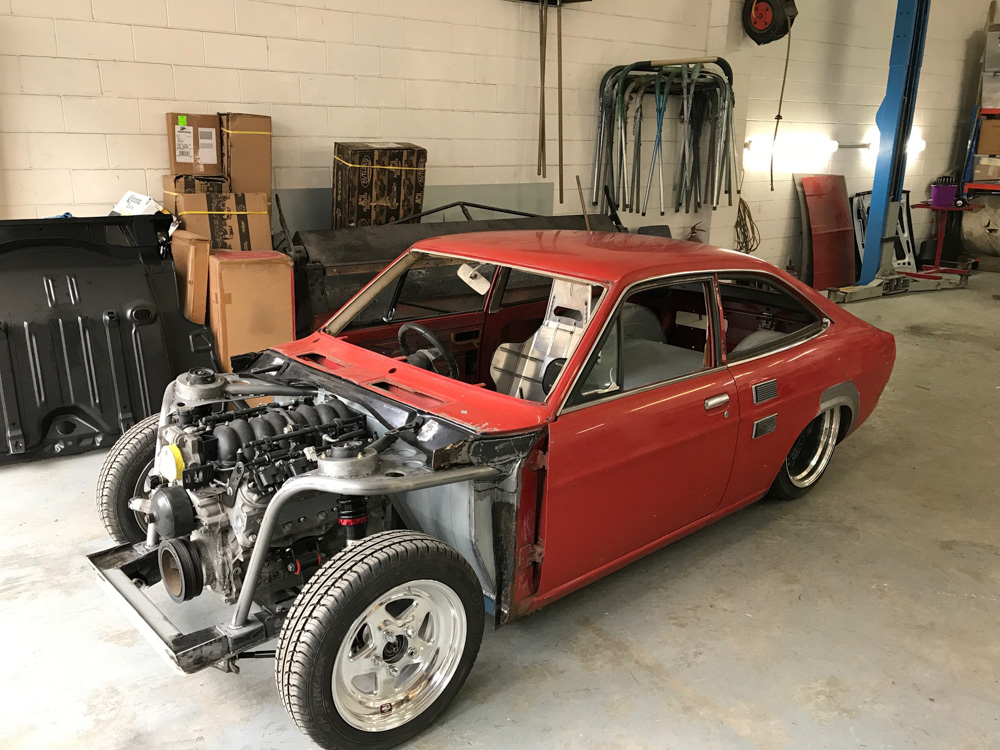Cars For Sale Under 1000 >> Build ups: Datsun 1200 coupe packin' heat — The Motorhood