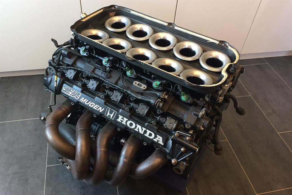 The ultimate engine swap? Mugen-built Honda F1 V10 for sale