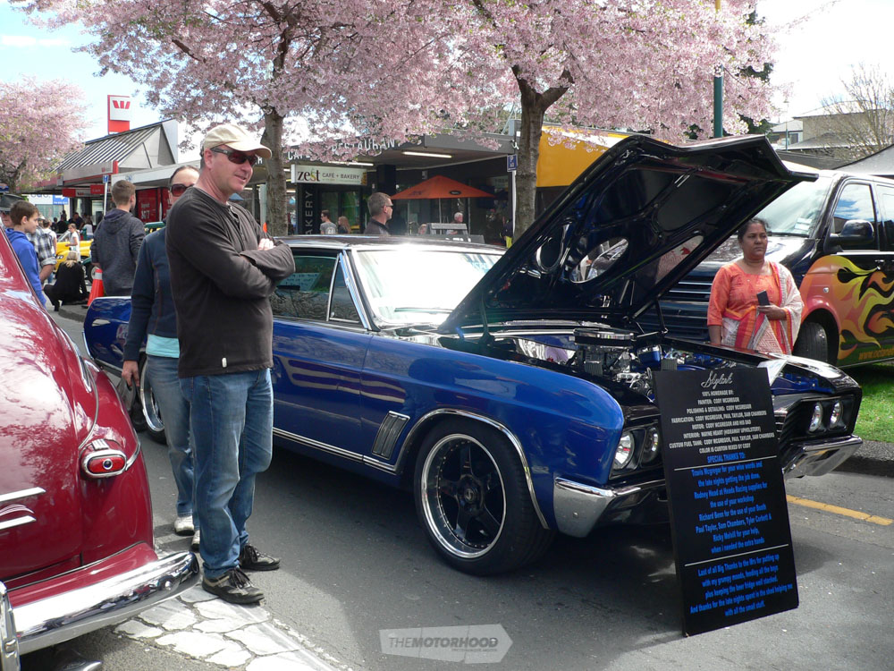 Cody McGregor displayed his well presented 1967 Buick Skylark and for his efforts was awarded the  Best_.jpg