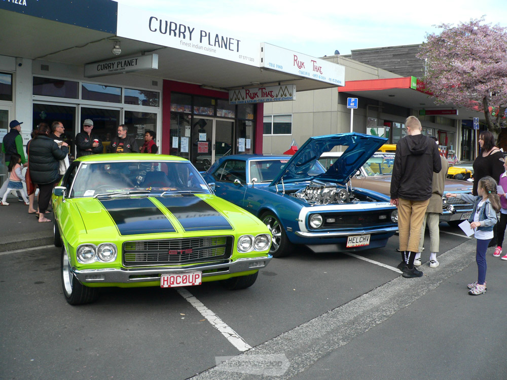 Peter Ganley  took home the Award for Best Chev with his '68 Camaro and Robyn Ganley's 63 Impala sits be.jpg