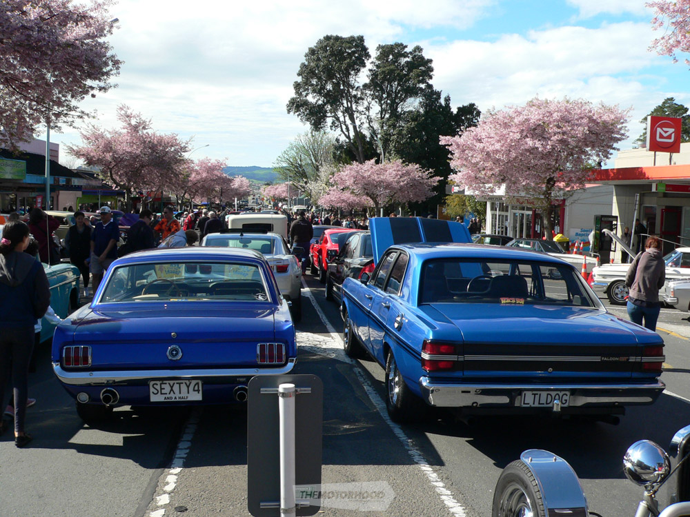 Dave Flett from BOP Mustang Club owns the 64  notch back Mustang and Eli Crawford from Paeroa owns the 1.jpg