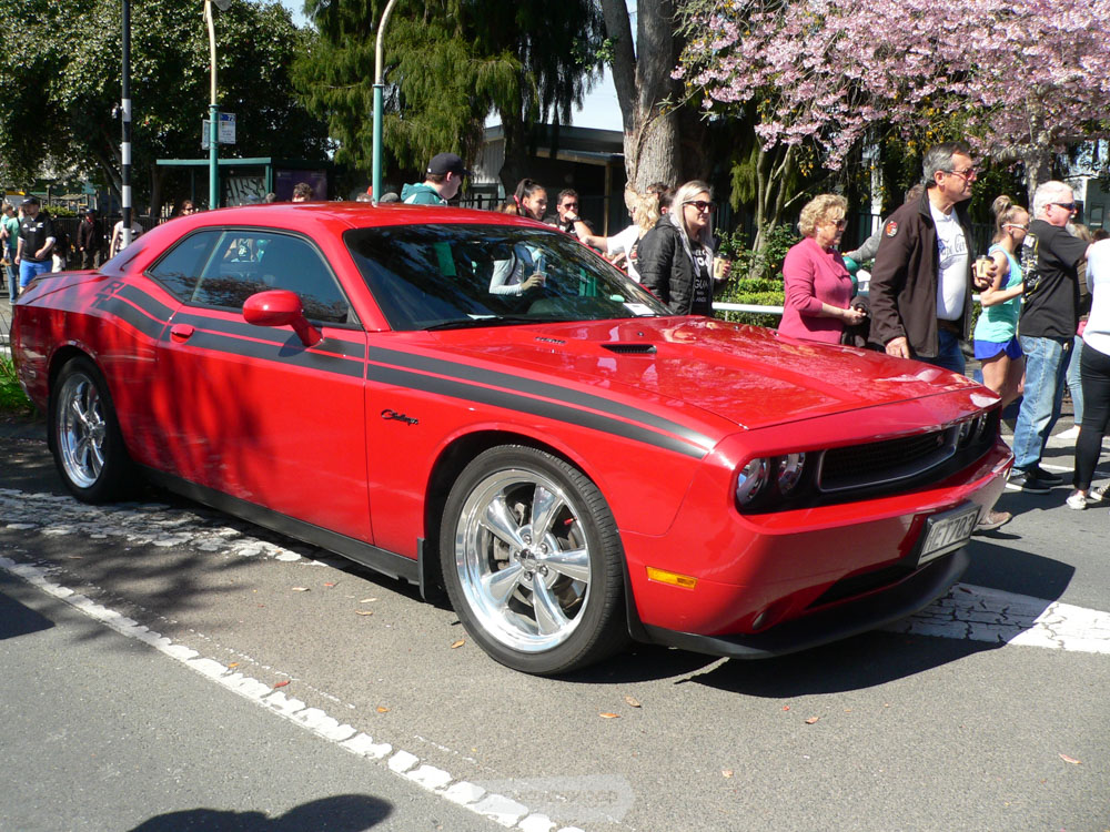 Glenn Mouat from Tauranga once again supported us  with his 2012 Dodge Challenger.jpg