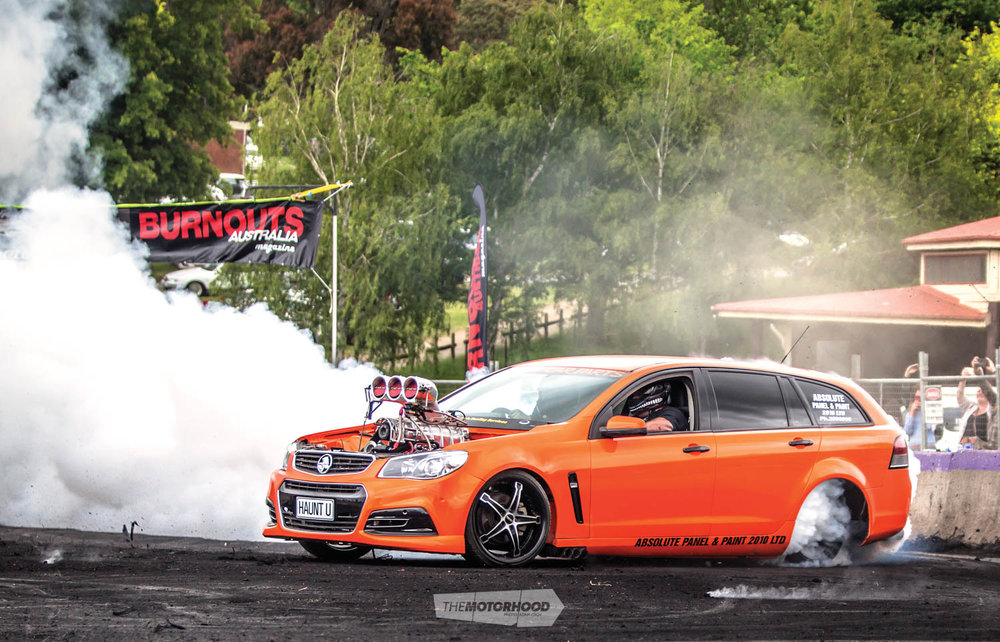 Photo:   Burnouts Australia Magazine