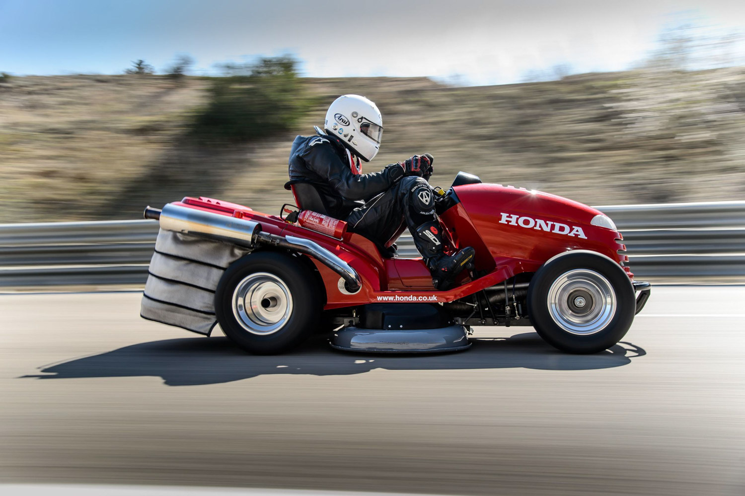 Honda Trumps Your Lawnmower Jokes Again