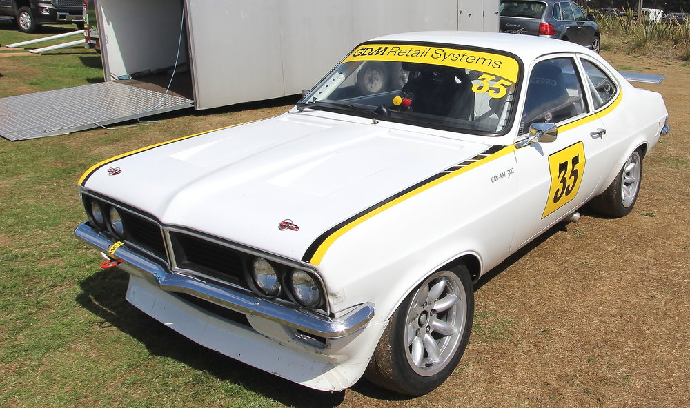 Rare beast: Michael Eden's (Whanganui) Vauxhall  Firenza with Chevrolet 5-litre power