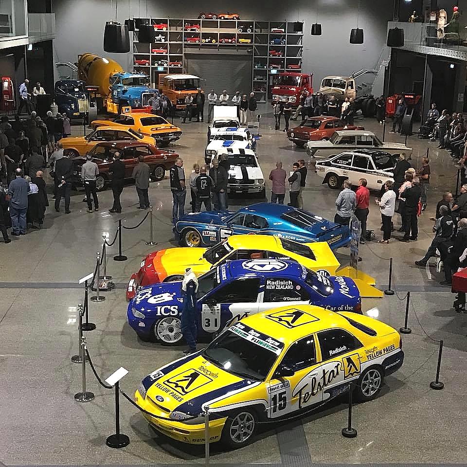 Main display hall