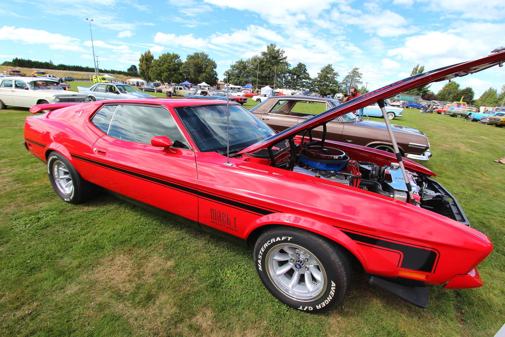 Ann-Maree & Brent Robinson's impressive Ford Mustang Mach 1