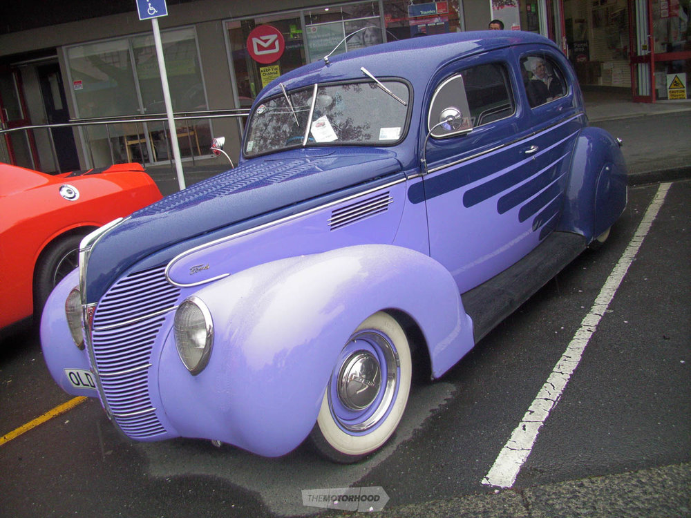 John Julian from Bay Rodders owns this scallped and louvred OLDAZE 1939 Ford Tudor complete with rear  s.jpg