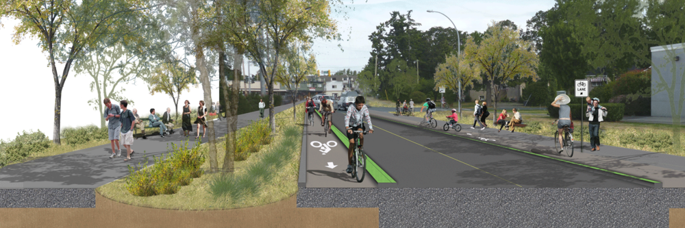 Saanich Complete Streets Concept Design   District of Saanich
