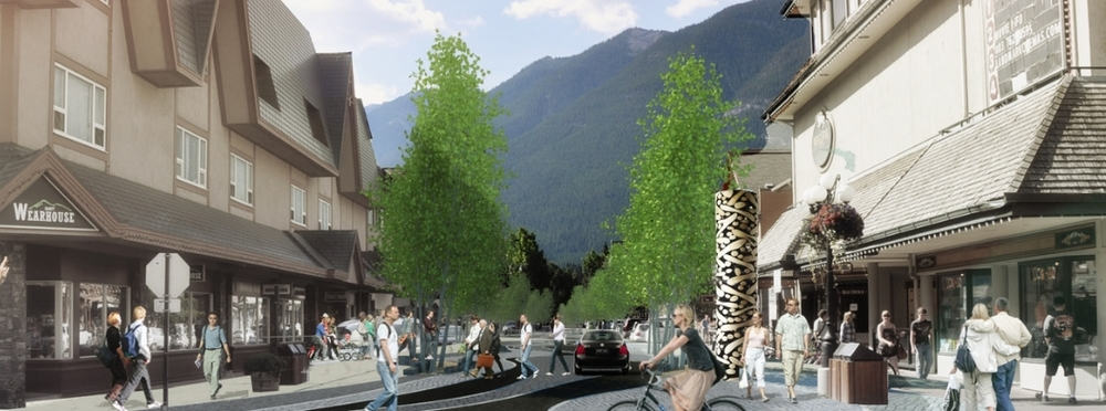 Bear Street Woonerf and Bear Street Lane   Concept Design   Town of Banff