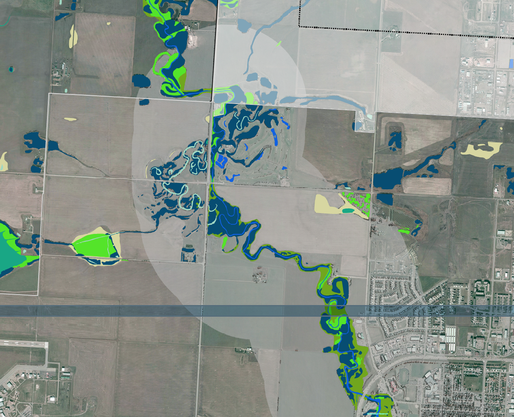 Grande Prairie Environmental Reserve Mapping + Science Based Setbacks   City of Grande Prairie