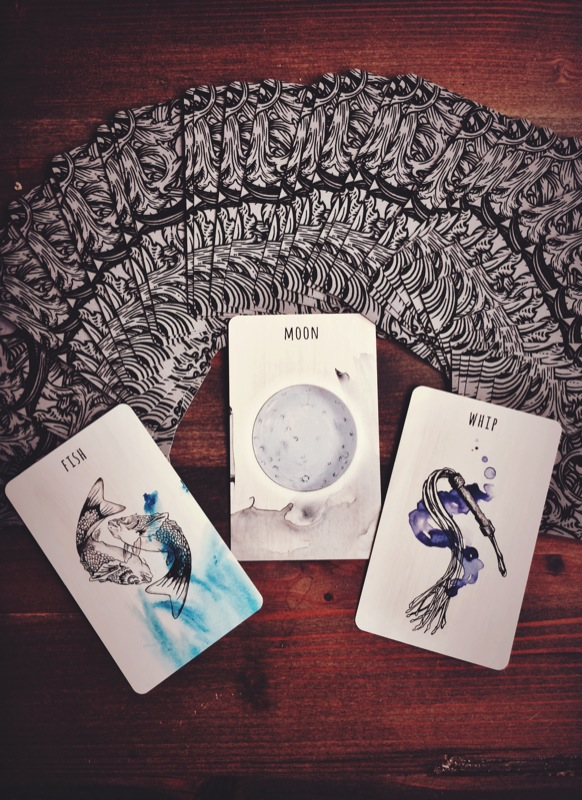 Fish, Moon + Whip! Deck by Siolo Thompson