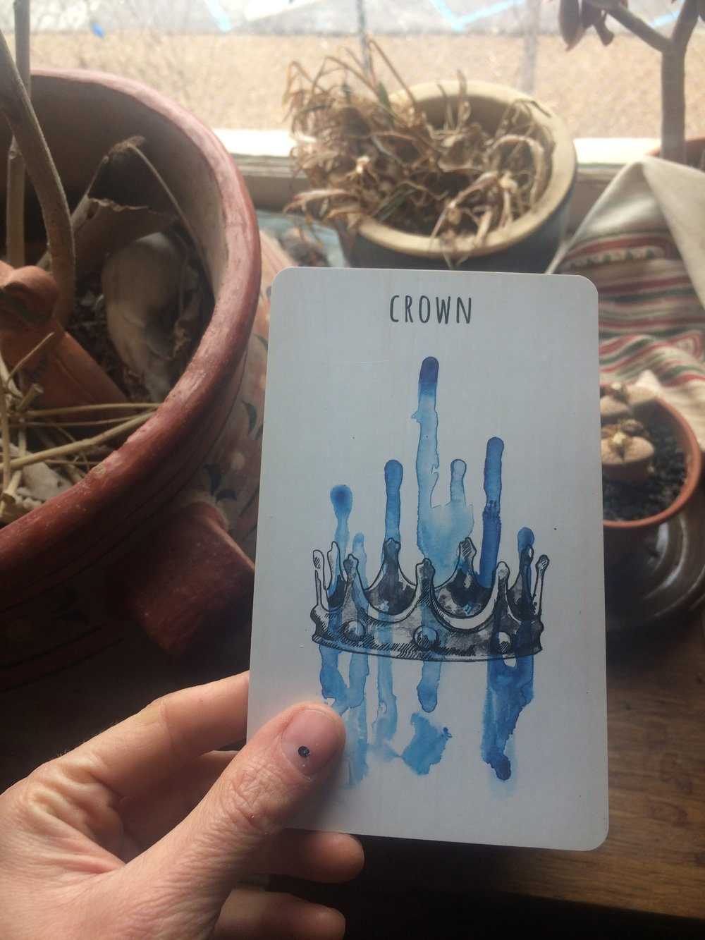 The Scrying Ink, Crown, which is badass.