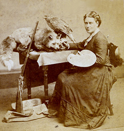 Martha Ann Maxwell, pioneer in taxidermy and lifelong vegetarian.