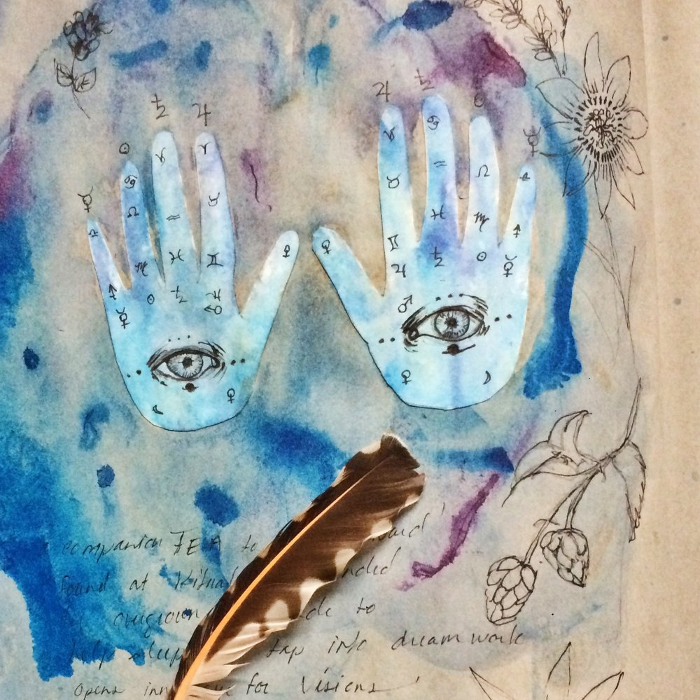 Shadow Book & Sigil Workshop with Jane Almirall