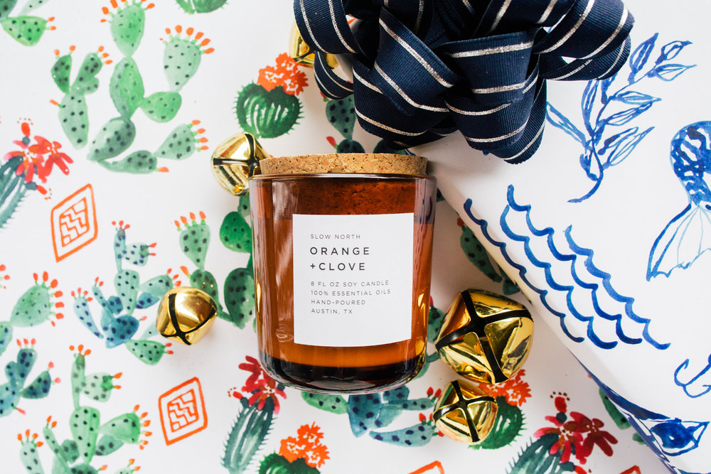 Orange Clove Candle by Slow North!