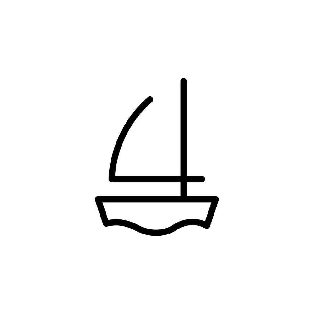 Day 43  남 /nam/ 남 means 'stranger' in Korean. Right after making my promise to focus on non-illustrative approach, here I am drawing a little boat 😜 Anyway, just wanted to portray how people come and go like a boat on water. Friends become strangers and strangers become friends in this sea of people.