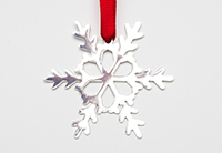 Snowflake I Ornament