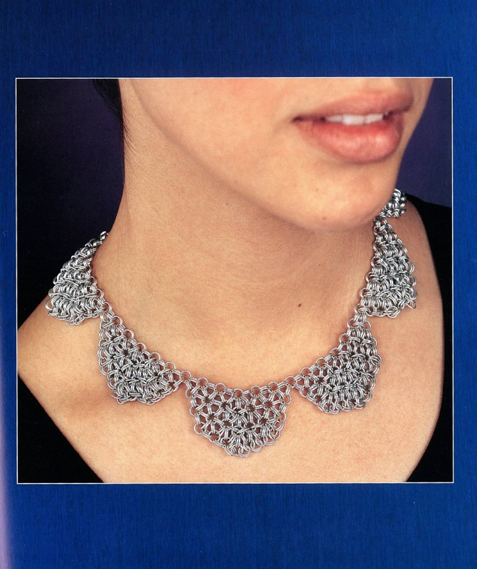 Japanese Hexagonal Chain Mail Collar