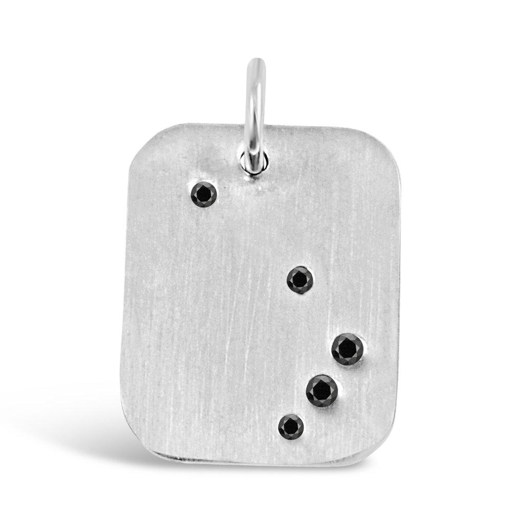Silver Aries Pendant
