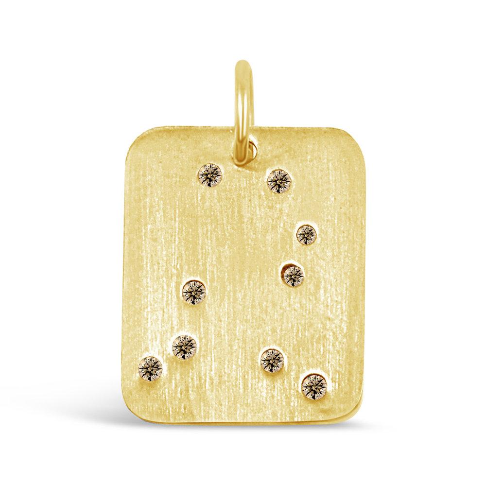 Gold Gemini Pendant