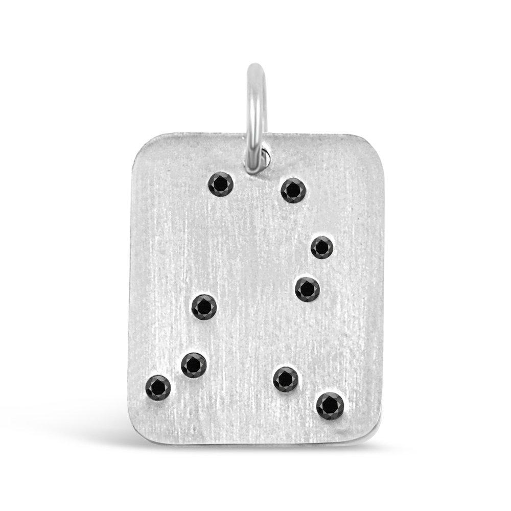 Silver Gemini Pendant